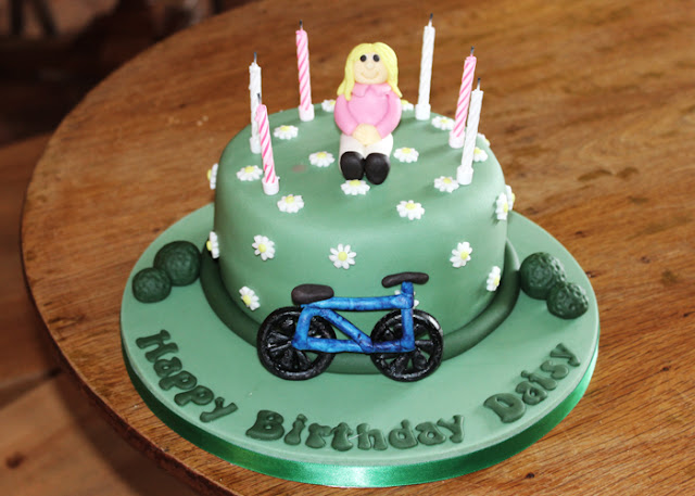 UK Lifestyle Blog Cycling Birthday Cake
