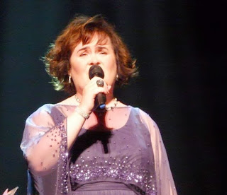 Susan Boyle in Edinburgh, July 12, 2013