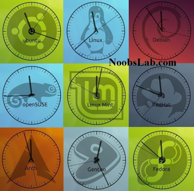 conky clock