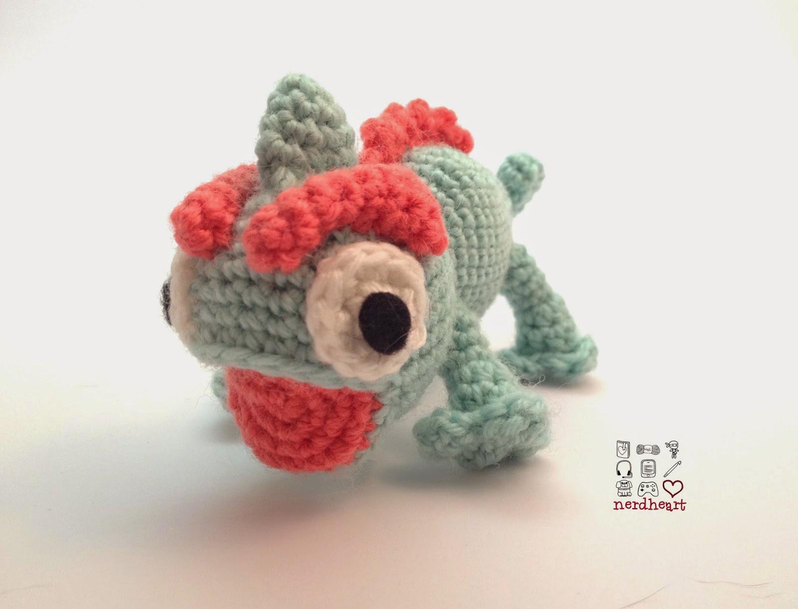 Amigurumi Chameleon Free Pattern : Nerdheart: Crochet Chameleons