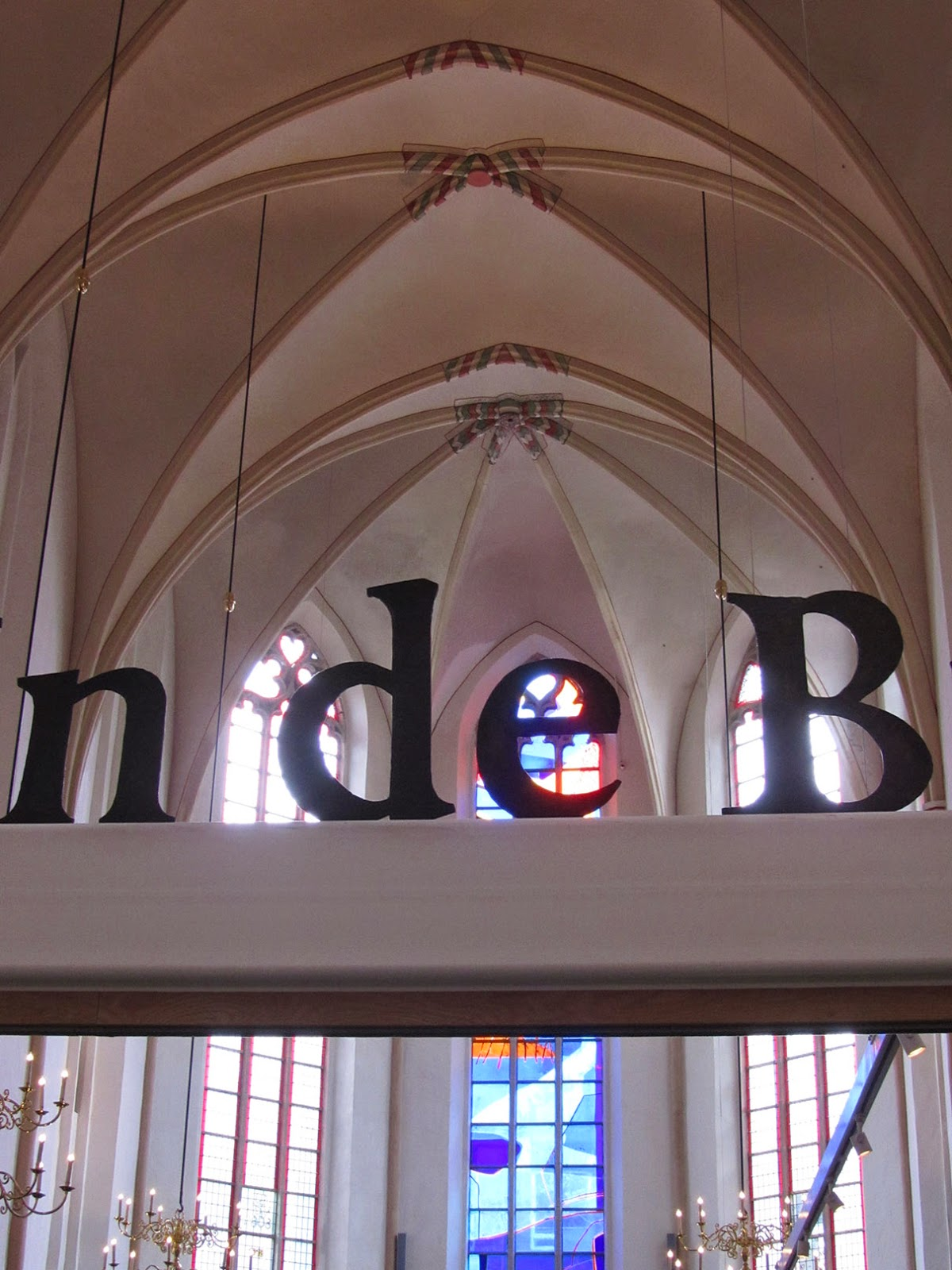 glass stained windows of Waanders in de Broeren