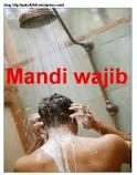 cara-cara mandi wajib/junub dengan betul