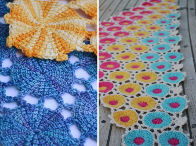 Cup Of Stitches Pattern Release Tunisian Flowers And Motifs