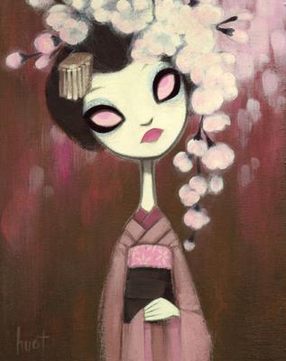 krista huot cherry blossom