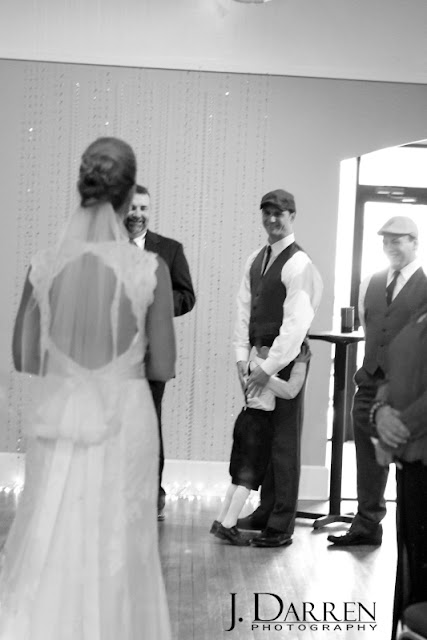 photo of Here comes the bride at Twelve West Main