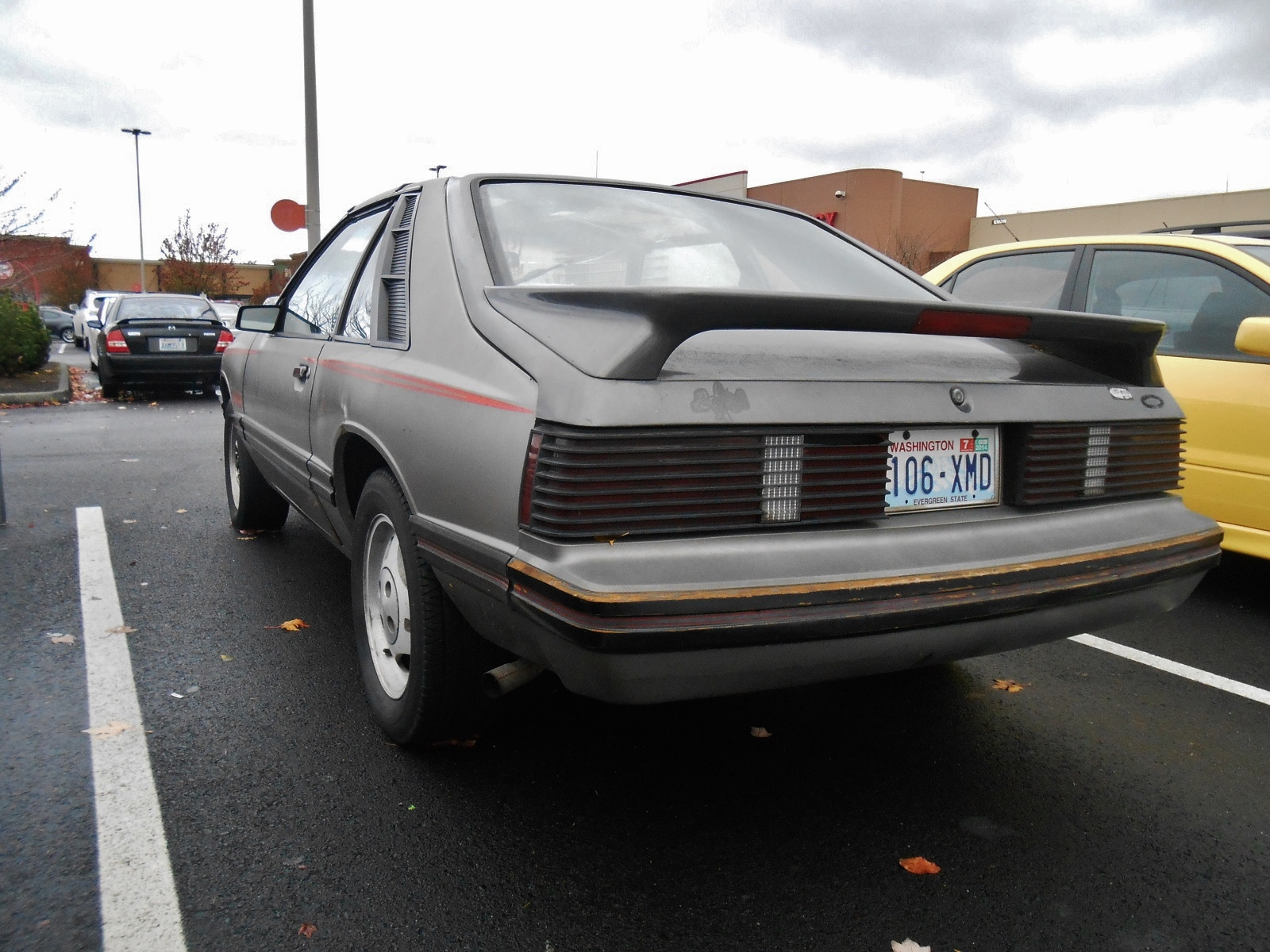 Seattle's Parked Cars: 1980 Mercury Capri RS