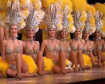 Vegas show girls nude hot