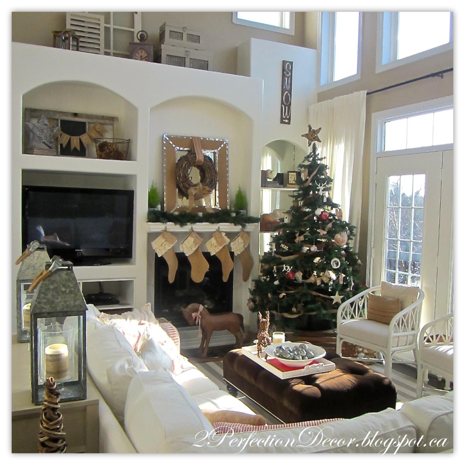 2perfection Decor Christmas Home Tour 2015