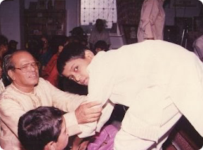 My Guruji: Pt. Eknath Pimpale(student of Pt.Nikhil Ghosh)