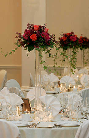 Wedding Flower Vases