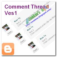 Chèn comment phân cấp vào Blogspot vers1