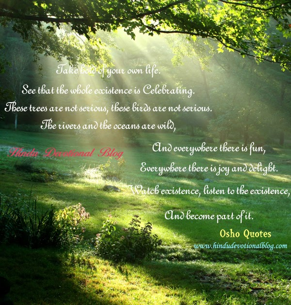 osho quotes and teachings hindu devotional blog
