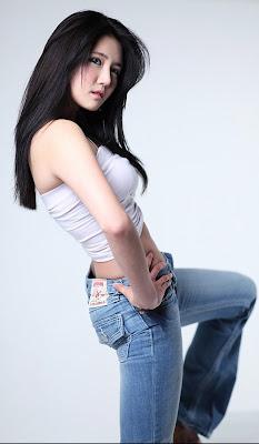 Han Ga Eun Pics Sexy Jeans