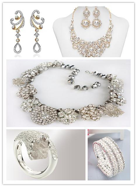 dimond wedding jewelry