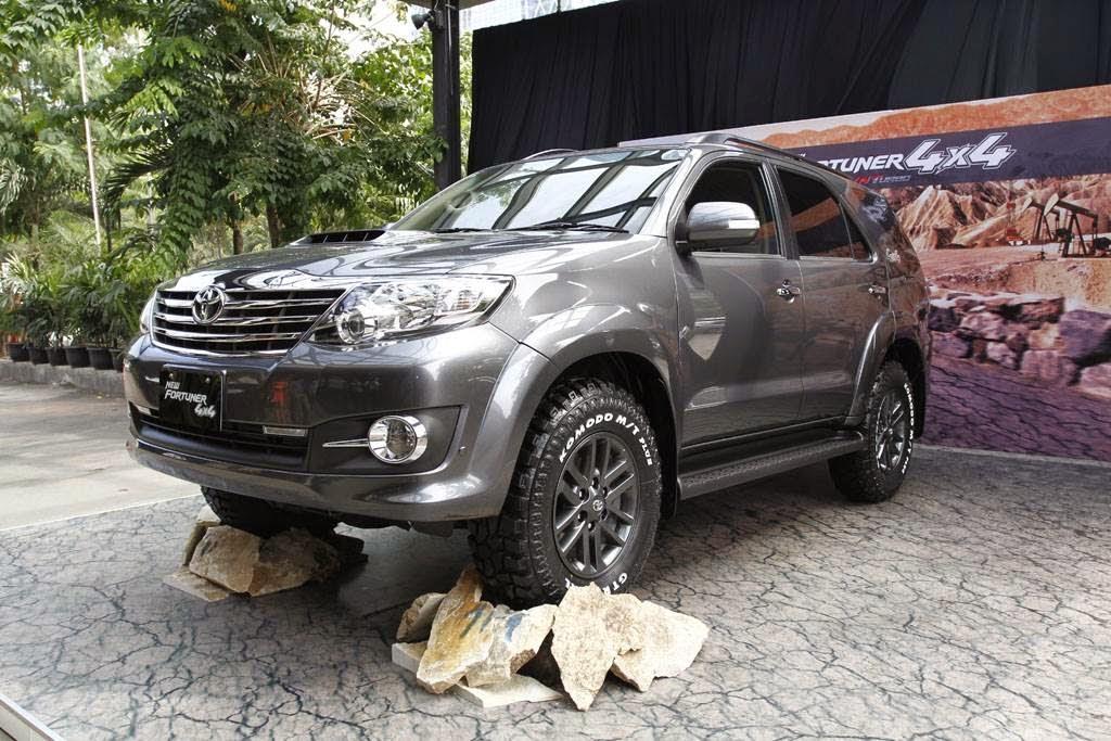 New Fortuner 4x4 diesel 2014