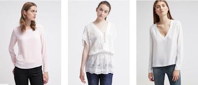 Koleksi baju blus casual modern terbaru untuk wanita