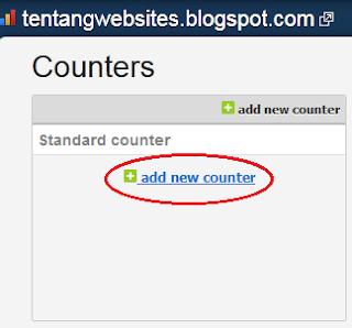 membuat histats di blog