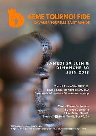 6eme OPEN FIDE de Saint-Mandé