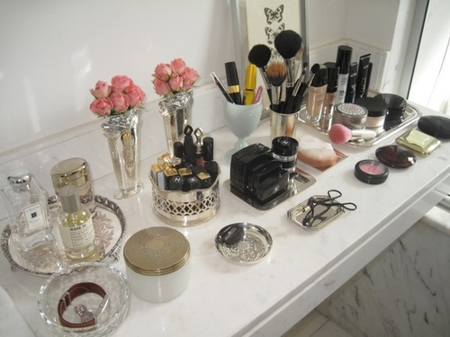 Cute make up storage ideas & Amore Grey: Cute make up storage ideas