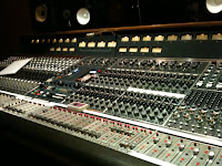 Neve console in Village Studio A image from Bobby Owsinski's Big Picture blog