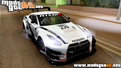 SA - Nissan GT-R (R35) GT3 2012 PJ4