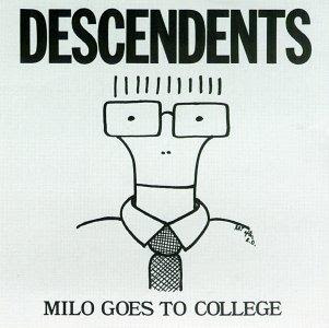 The Descendents Milo Goes to College album cover