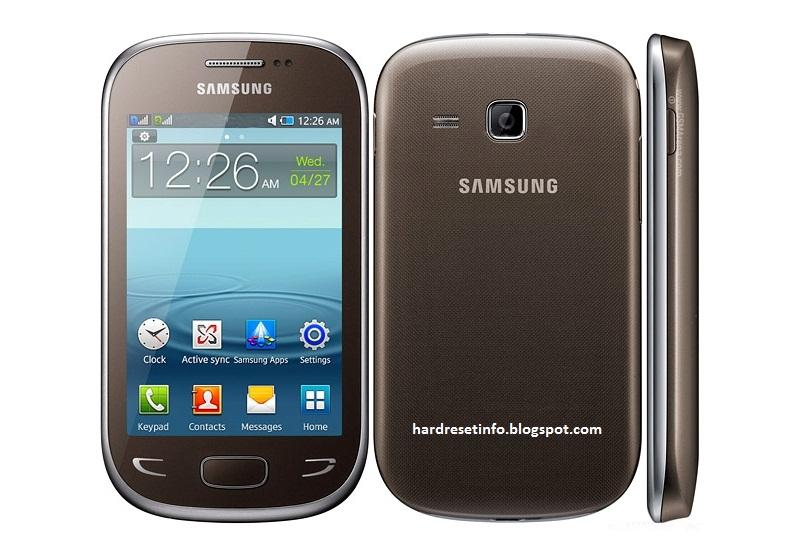 Hard Reset Samsung Star Deluxe Duos S5292