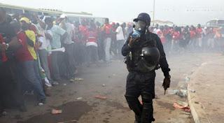 Con disturbios arrancó la Copa África de Naciones