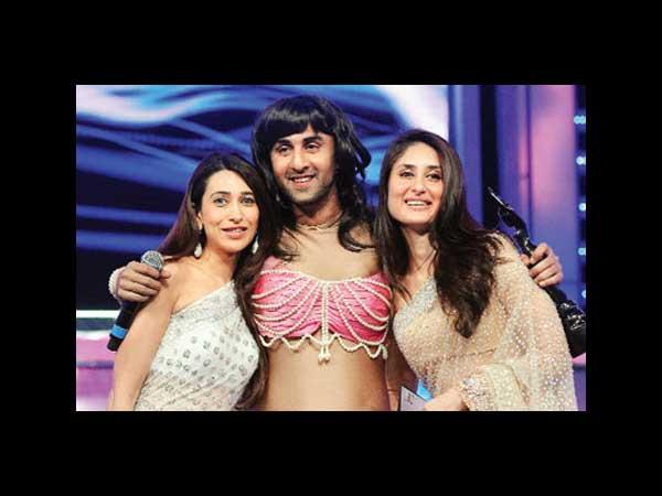Ranbir Kapoor And Kareena Kapoor Childhood Kareena  karisma and ranbirKareena Kapoor And Ranbir Kapoor Childhood