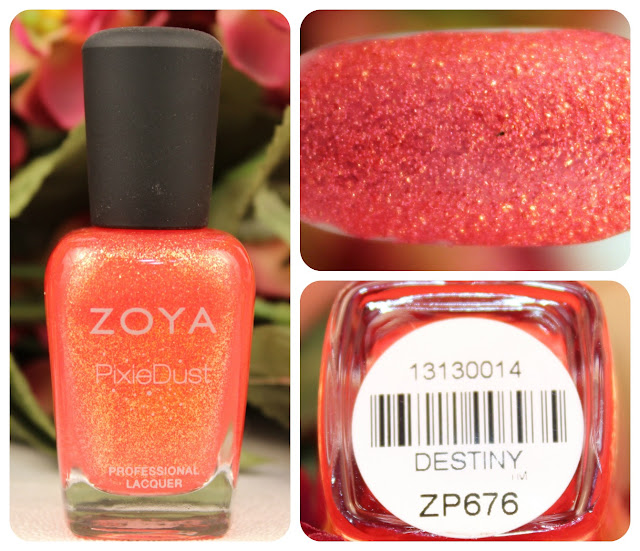 Zoya Destiny Pixie Dust Nail Polish