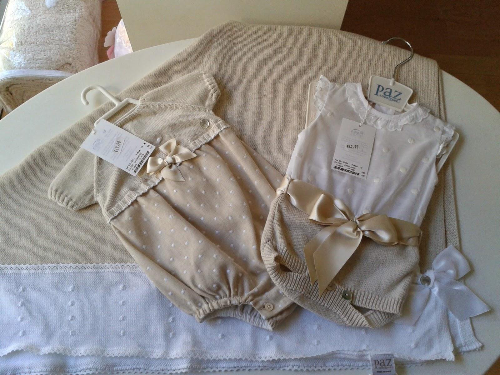 Lazos beb s canastilla de beb paz rodr guez primavera verano ropa 0 meses prepara la - Ropa bebe 0 meses ...