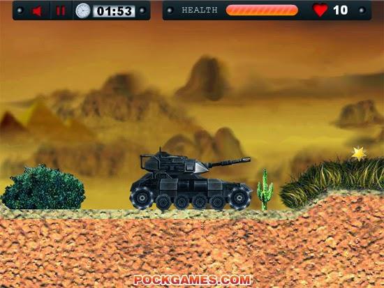 لعبة الدبابة السريعة