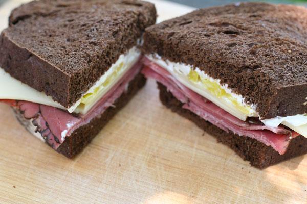 bronx bomber sandwich