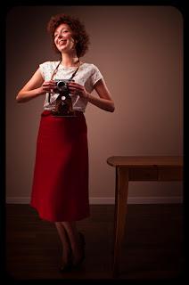 Portret fotografki w stylu Pin-up. Fot. Łukasz Cyrus