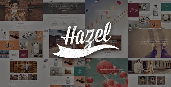 Hazel Responsive wordpress theme