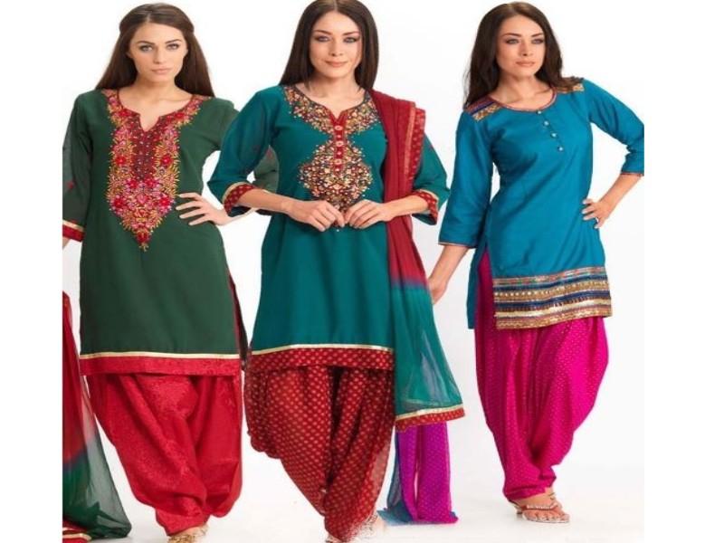 Neckline Fashion | Gala / Neck Designs of Kameez Dresses - 27 January ...