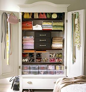 A felicidade o caminho como organizar o seu roupeiro - Como organizar un armario pequeno ...