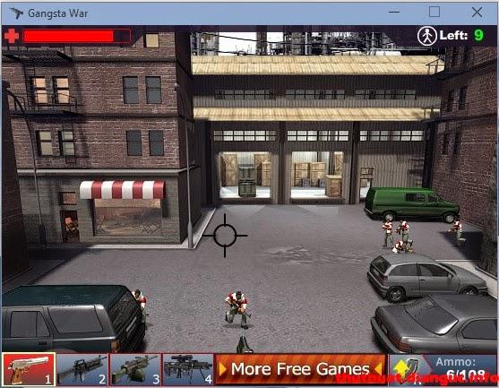 Download Game Gangsta War – Game bắn súng hay hấp dẫn
