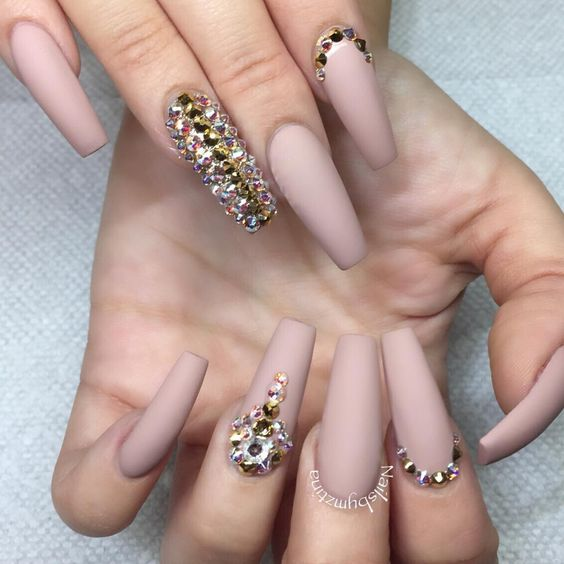 Gorgeous Pastel Pink Matte Nails Omg Love Beauty