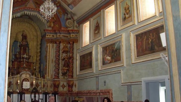 telas lado direito da capela mor