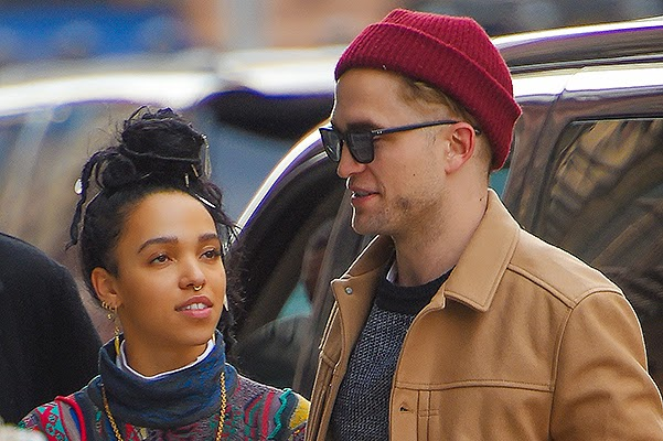 Robert Pattinson and Tahlia Barnett in New York
