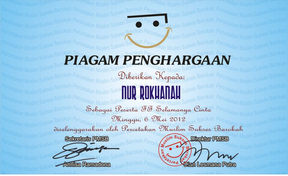 ... piagam penghargaan comment on this picture wahyu punya blog piagam