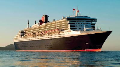 Queen Mary 2 Transatlantic Ocean Liner Luxery Ship HD Desktop Wallpaper
