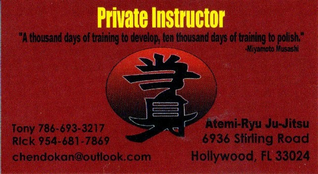 Martial Art Instruction