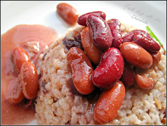 Rice and Beans with Coconut Milk Recipe, rice never tasted better than this Southern Classic dish with a Caribbean hint! #comfortfood #southernfood #caribbeanfood #rice #beans #coconut