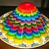 Puding Rainbow Saus Vanila