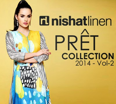 Nishat Linen Pret Collection 2014 Vol-2