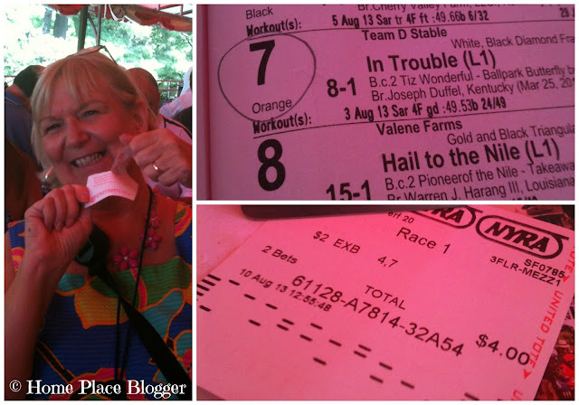 Wagering at Saratoga Race Course