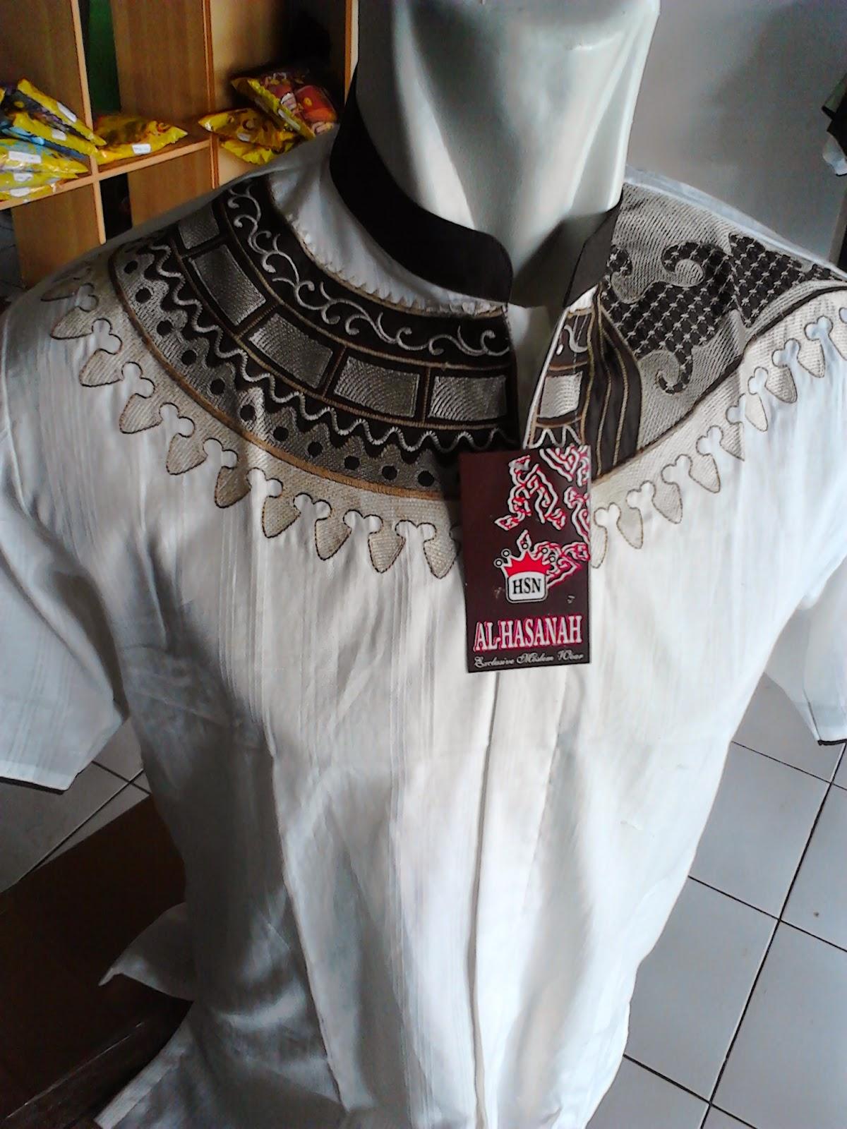 Baju Koko Murah Tasikmalaya, Model Tangan Pendek, AH 3, Baju Koko Bahan Katun