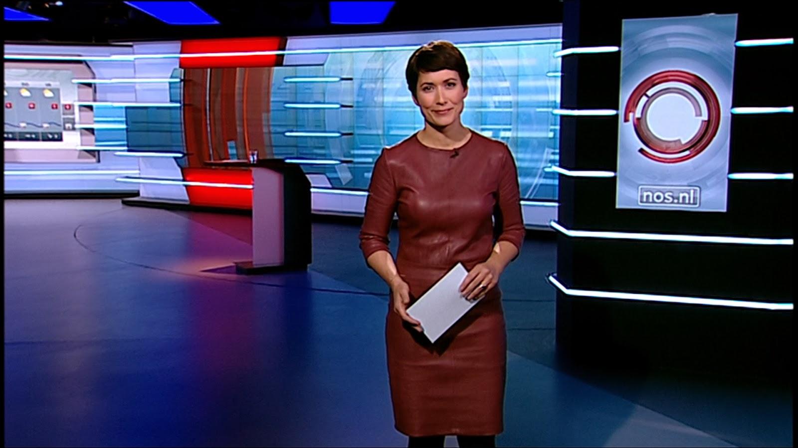 Annechien Steenhuizen: NOS Journaal presentatrice ...